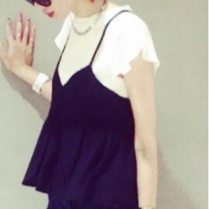 キャミソールをプラスするだけ!トレンドファッション画像まとめ☆のサムネイル画像