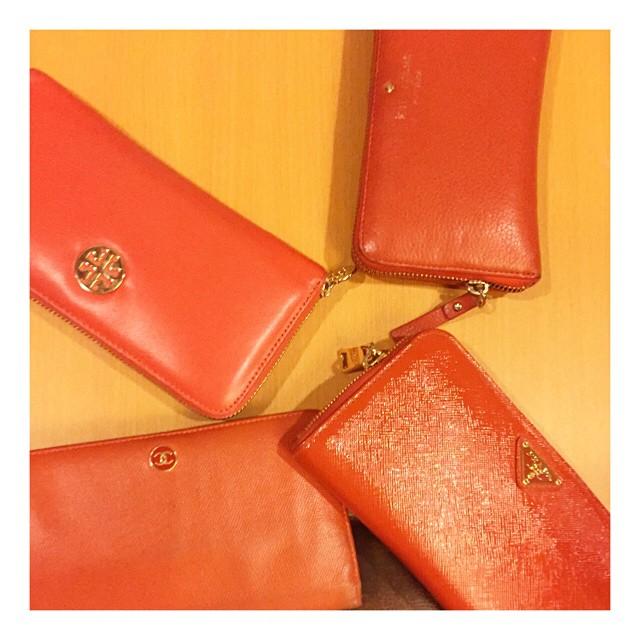 元気一杯オレンジカラーの長財布にこの夏から買い換えよう!のサムネイル画像