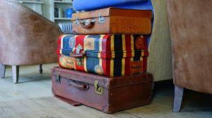 すぐに見つかる!スーツケースに、わかりやすい目印をつけちゃおう♪の画像