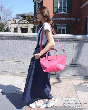 絶対使えるロンシャンのバッグ!洗練された大人カジュアルなコーデ術の画像