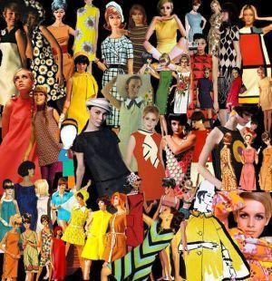 自由にカラフルに個性的に!今、新しい60年代ファッション!|